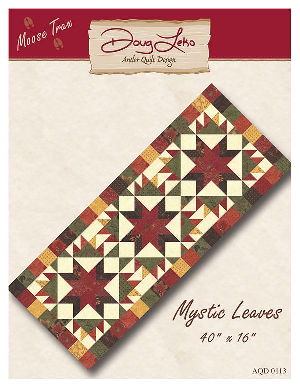 Antler Quilt Design Mystic Leaves