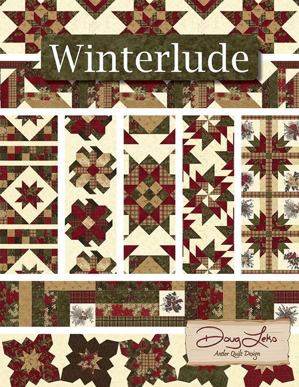 Winterlude-Forever Green - Antler Quilt Designs - AQD 0408G