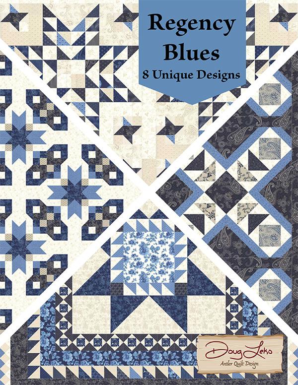Antler Quilt Designs  Regency Blues