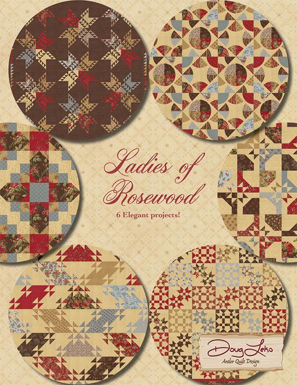 Antler Quilt Designs  Ladies of Rosewood