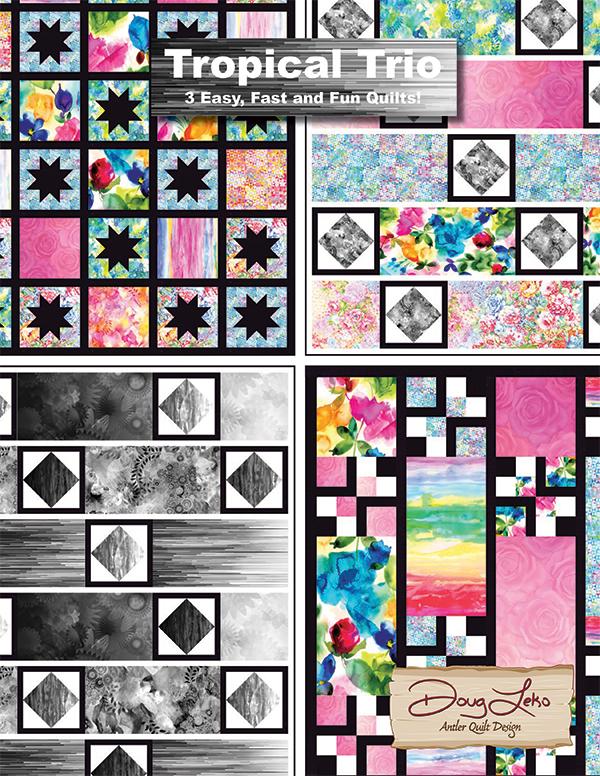 Tropical Trio Pattern Book by Doug Leiko
