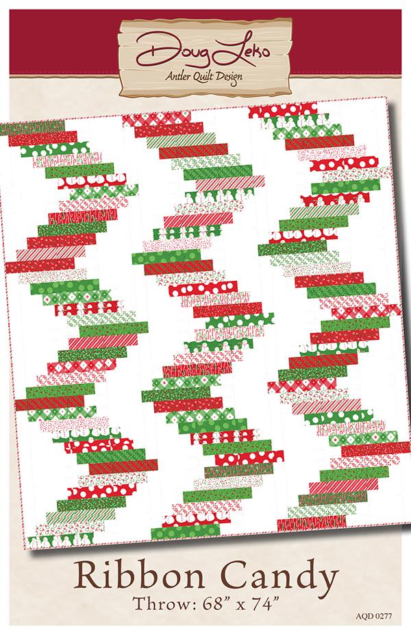 Doug Leko Antler Quilt Design - Ribbon Candy AQD 0277