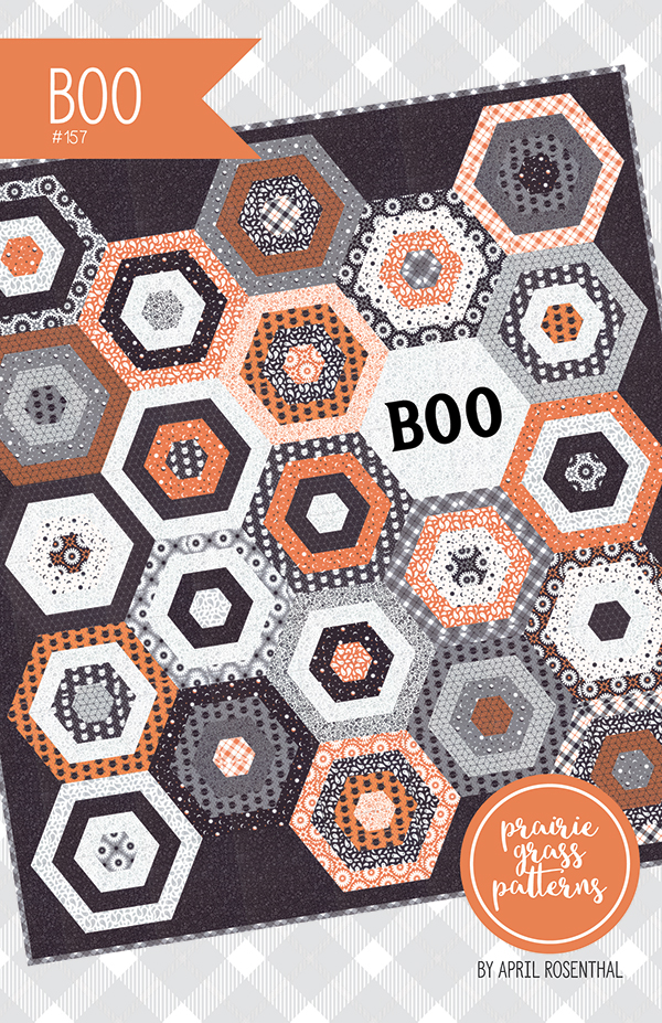 Boo Quilt Pattern by April Rosenthal