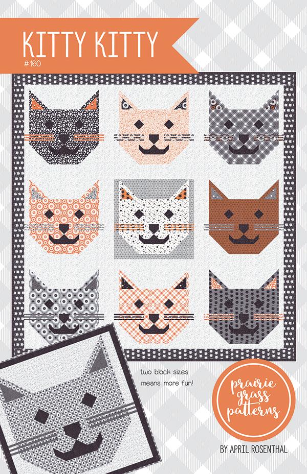 Kitty Kitty by Prairie Grass Pattern