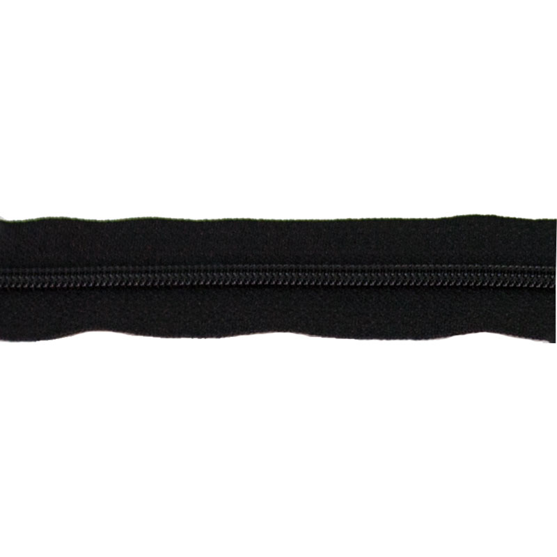 Zipper 14 Basic Black