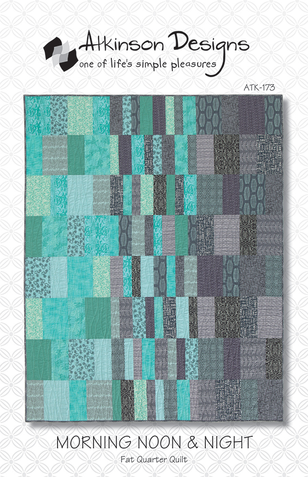 Morning Noon & Night Quilt Pattern by Atkinson Designs