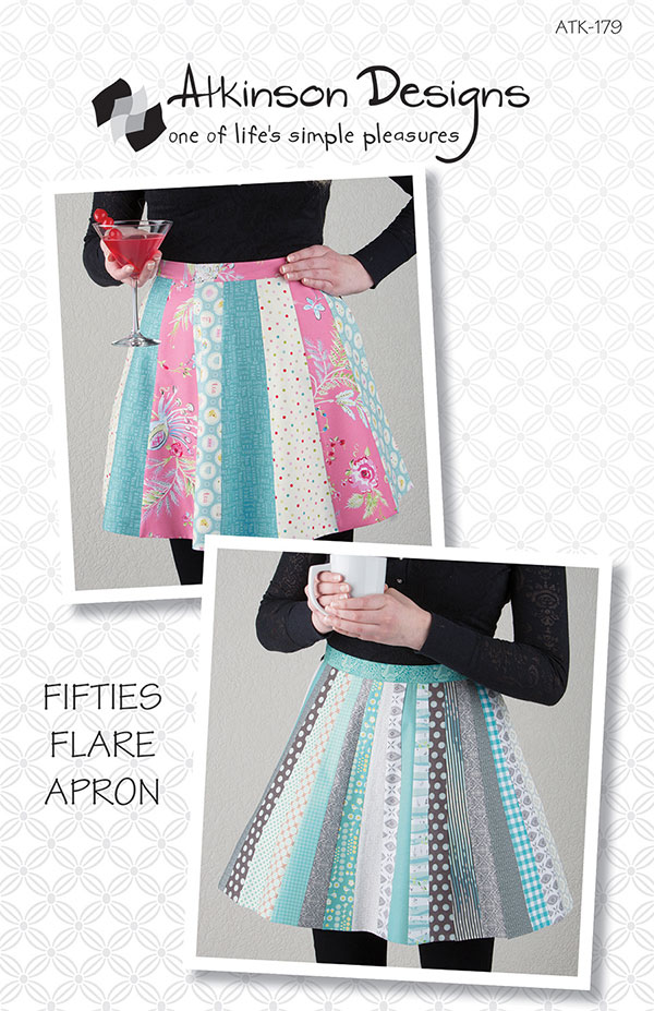 Atkinson Designs Fifties Flare Apron Sewing Pattern