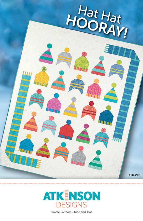 Hat Hat Hooray Pattern ATK-206