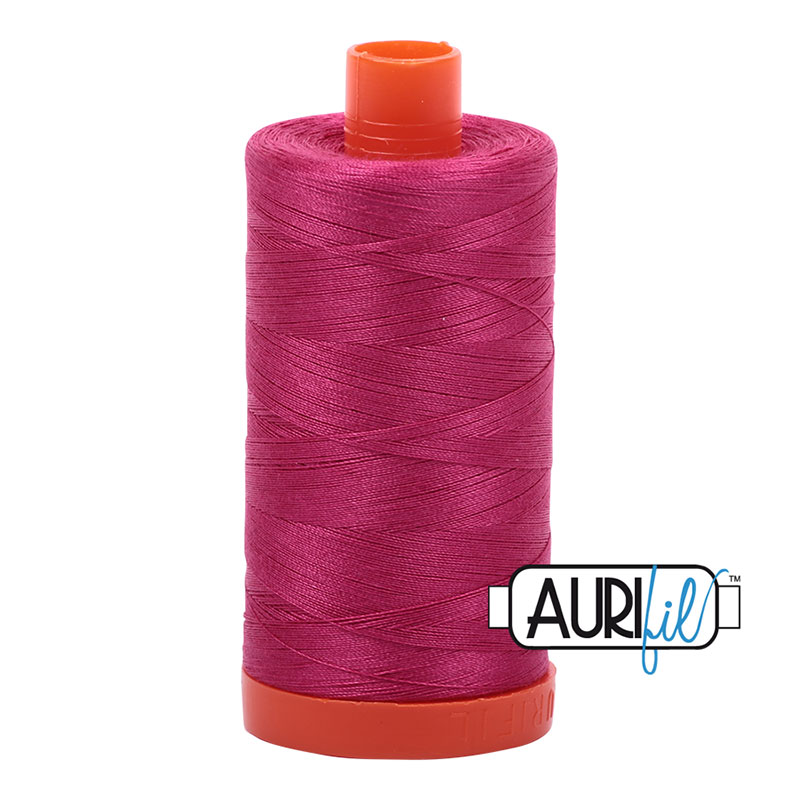 Aurifil Cotton Mako Thread 50wt: Strawberry - 1100