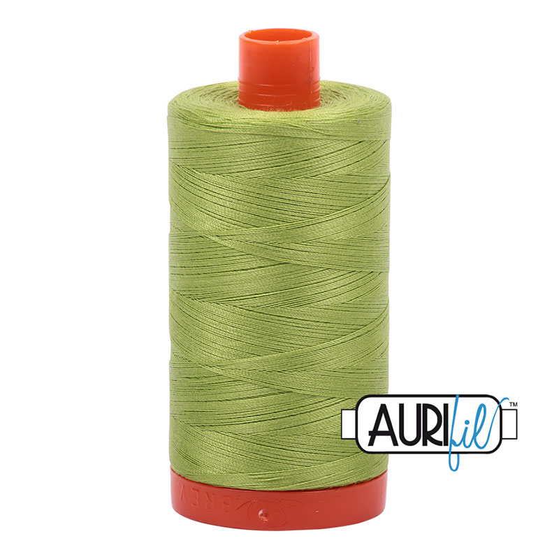 Aurifil Cotton Mako Thread 50wt: Spring Green - 1231
