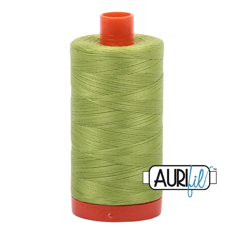 Cotton Mako Thread 50wt 1300m Spring Green
