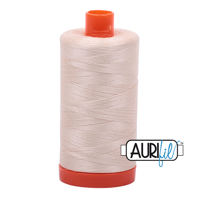 Aurifil Cotton Mako Thread 50wt 1300m/1422 yds - 2000