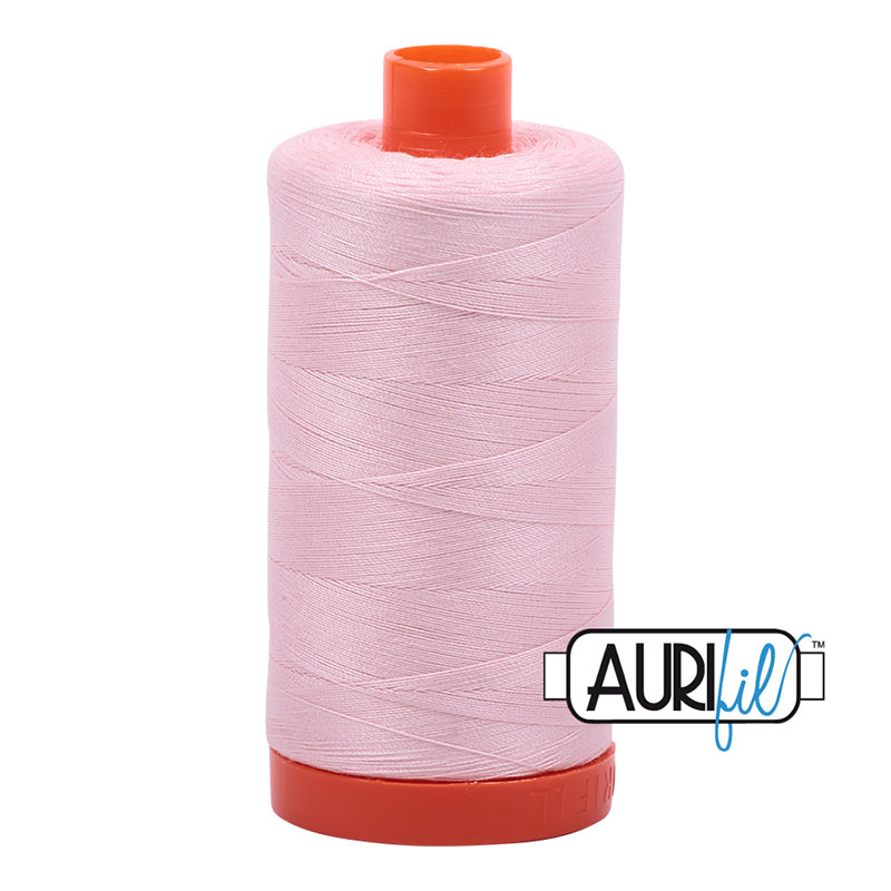 AURIFIL 2410 PALE PINK Mako 50 COTTON