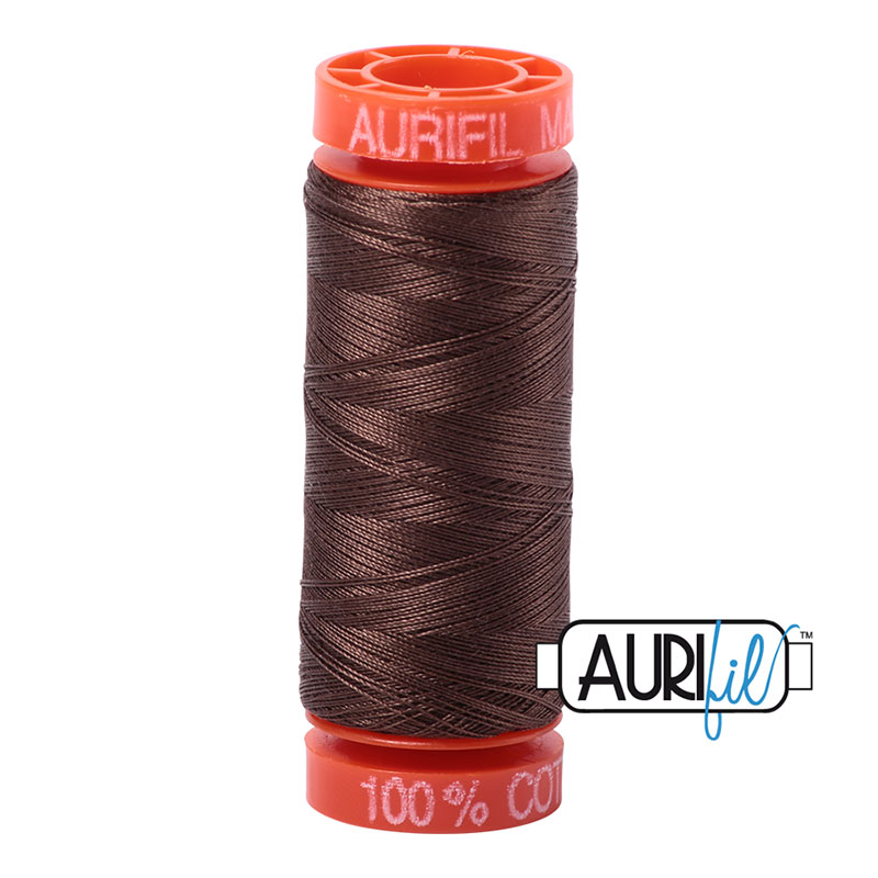 Aurifil 1140 MINI 50wt - BROWN