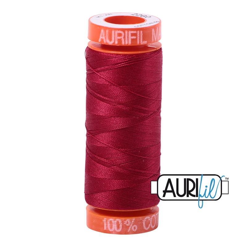 Aurifil 2260 MINI 50wt - BURGUNDY