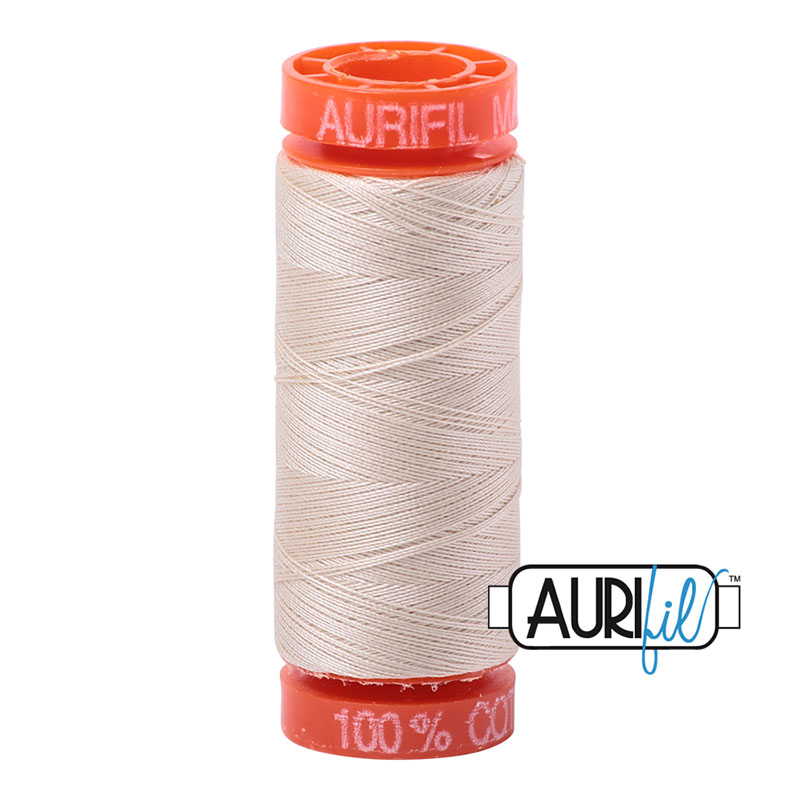Aurifil 2310 MINI 50wt - Cream