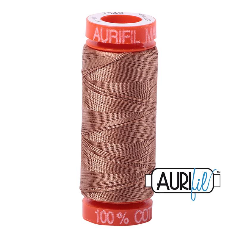 Aurifil 2340 MINI 50wt - LT BROWN