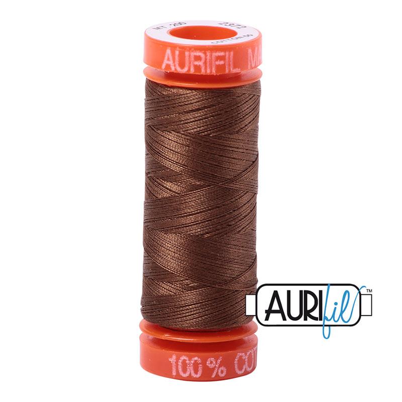 Aurifil - 2372 Dk Antique Gold