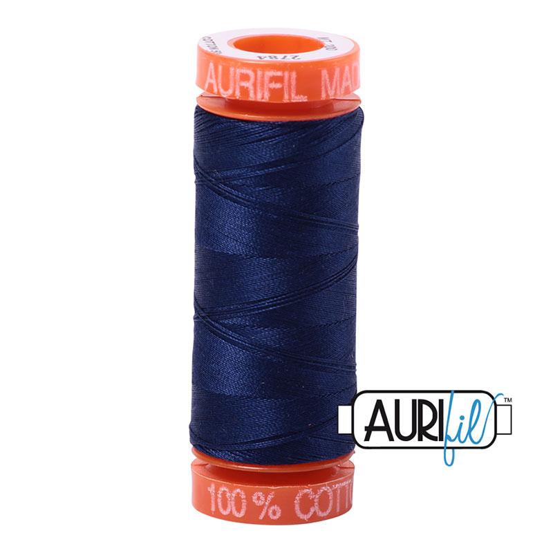 Aurifil 2784 MINI 50wt -DK BLUE