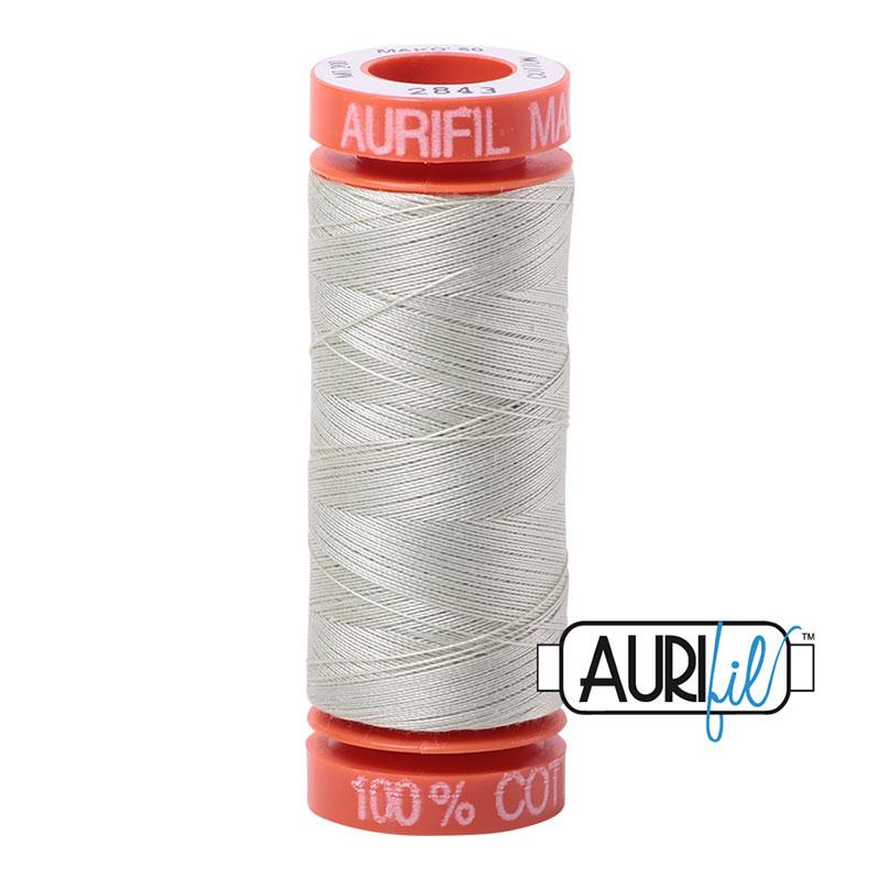 Aurifil - 2843 Lt Grey Green