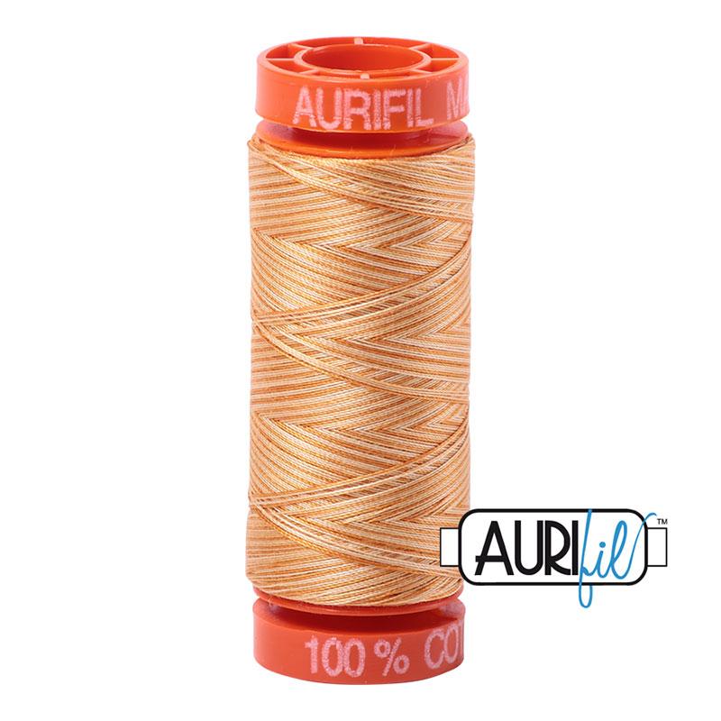 Aurifil Mako Cotton Thread 50wt 220yds - Creme Brule 4150