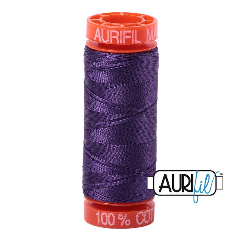 Aurifil Mako Cotton Thread 50wt 220yds - Eggplant 4225