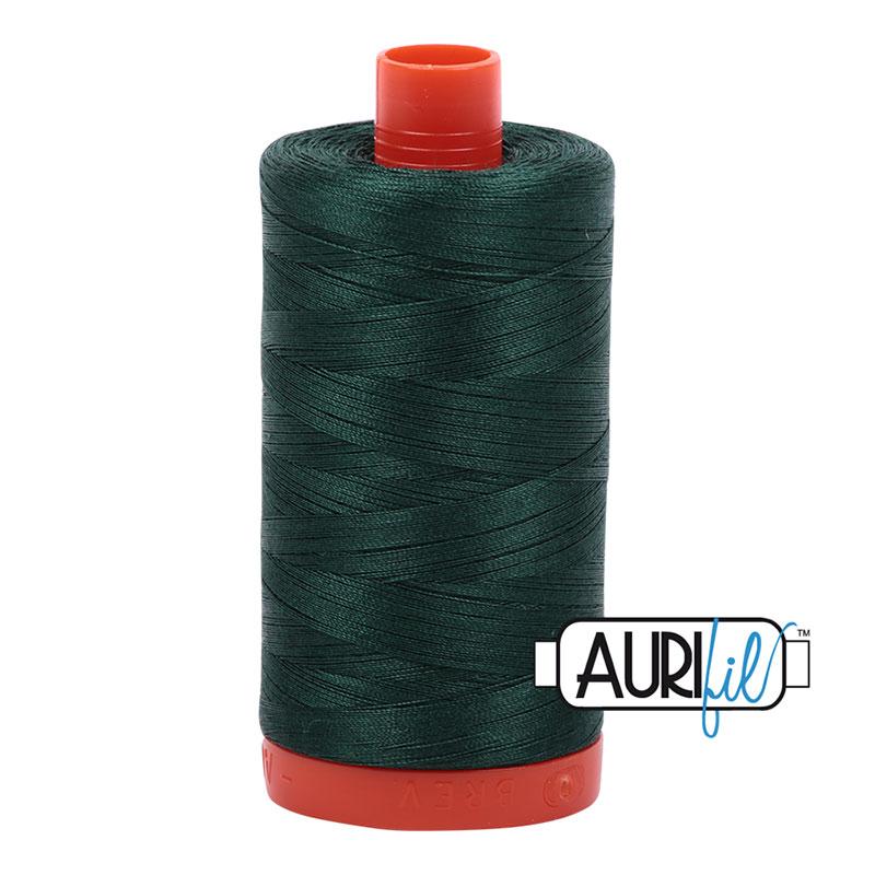 Cotton Mako Thread 50wt 1300m spruce
