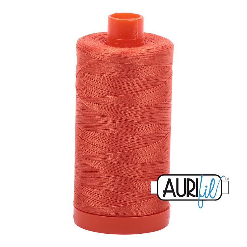 Aurifil 1154 Large Spool Thread 50wt 1300m Dusty Orange