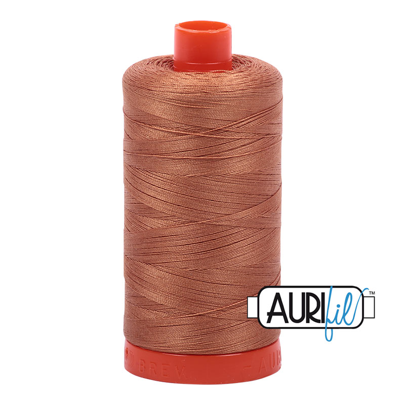 2330 Light Chestnut Cotton Mako Thread 50wt 1300m