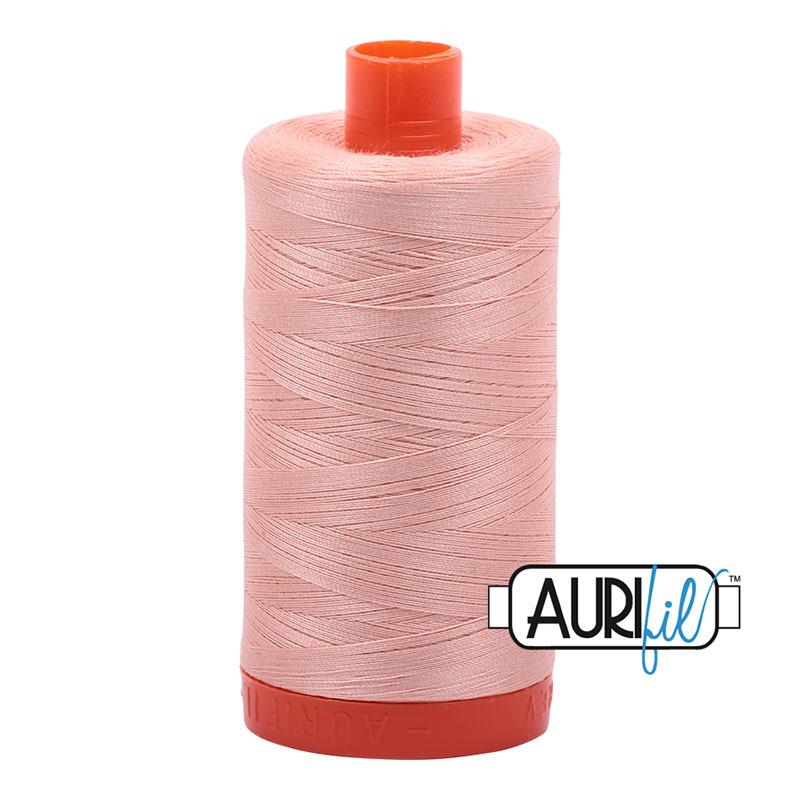 Aurifil 2420 Large Spool Thread 50wt 1300m Fleshy Pink