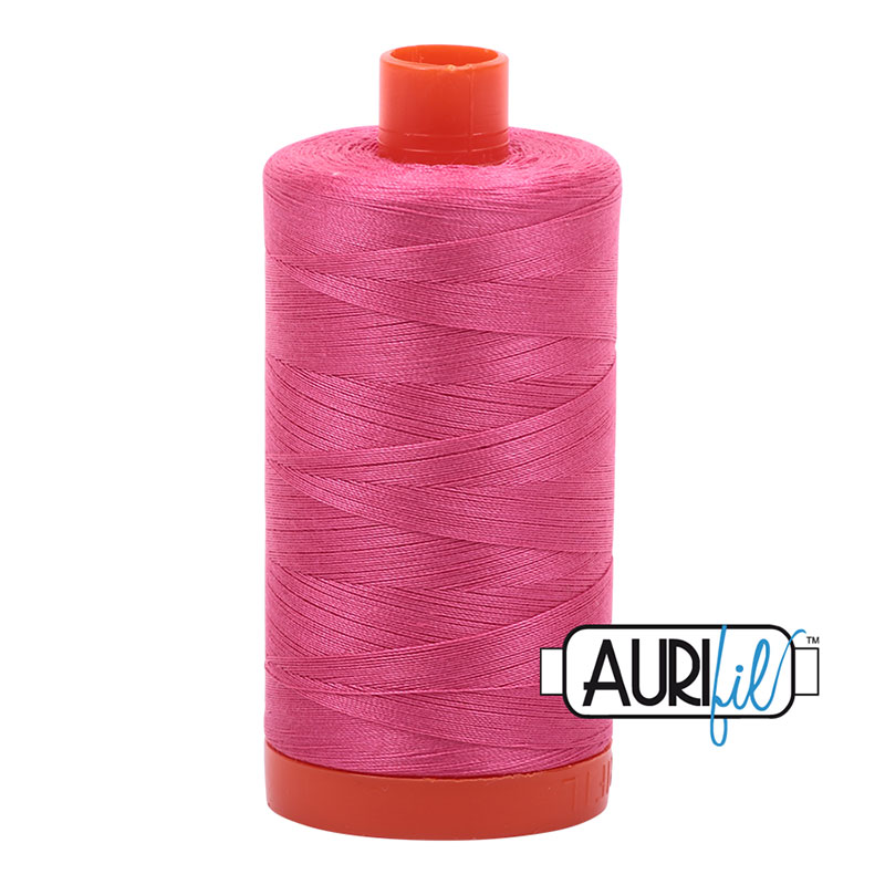 AURIFIL 2530 BLOSSOM PINK MAKO COTTON THREAD 50wt 1422yds