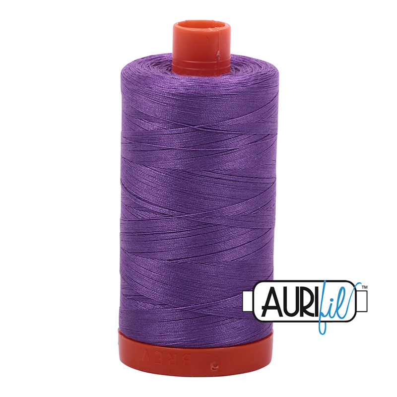 Aurifil 2540 Large Spool Thread 50wt 1300m Medium Lavendar