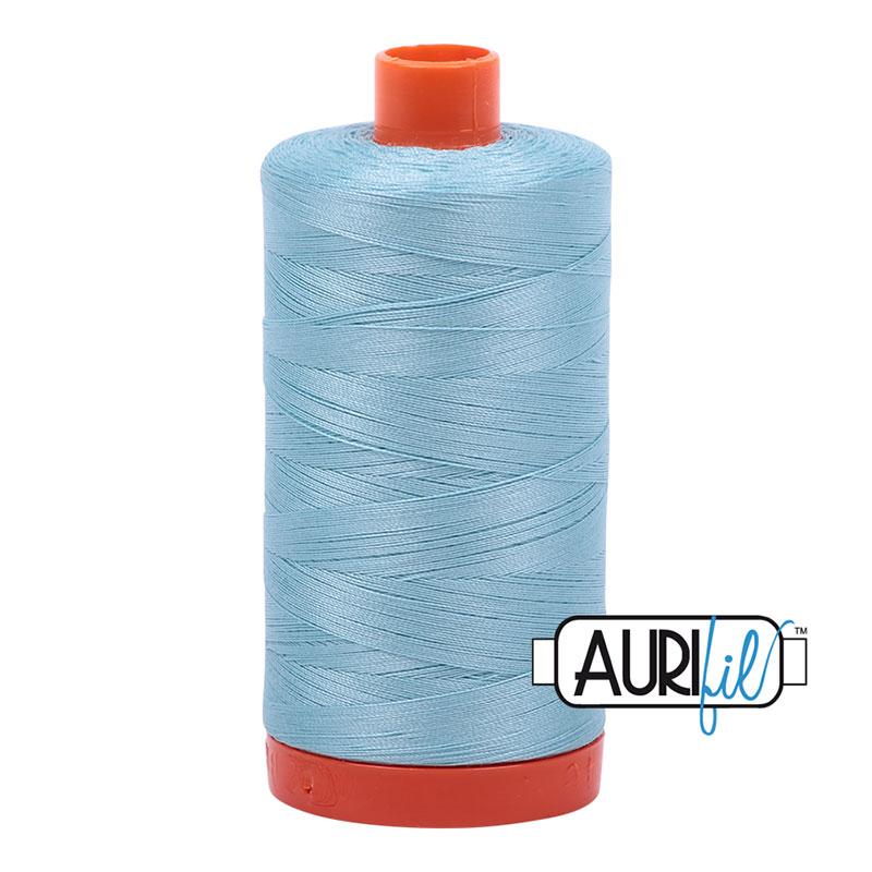 Aurifil - Cotton Mako - 50wt 1300m - Light Grey Turquoise - 2805