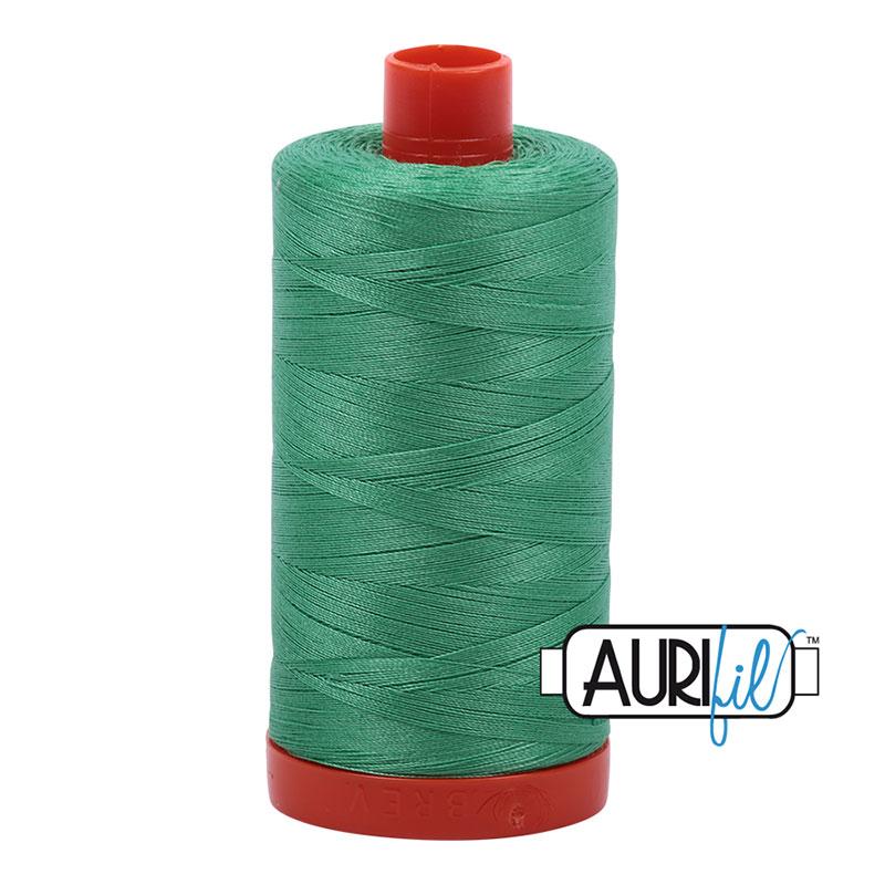 2860 Light Emerald Cotton Mako Thread 50wt 1300m