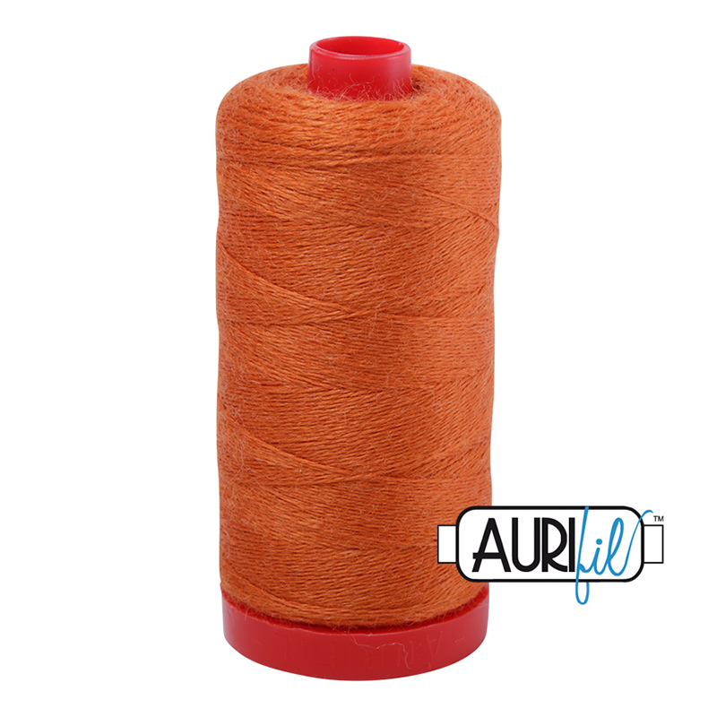 Lana Wool Thread 12wt 350m - ORANGE