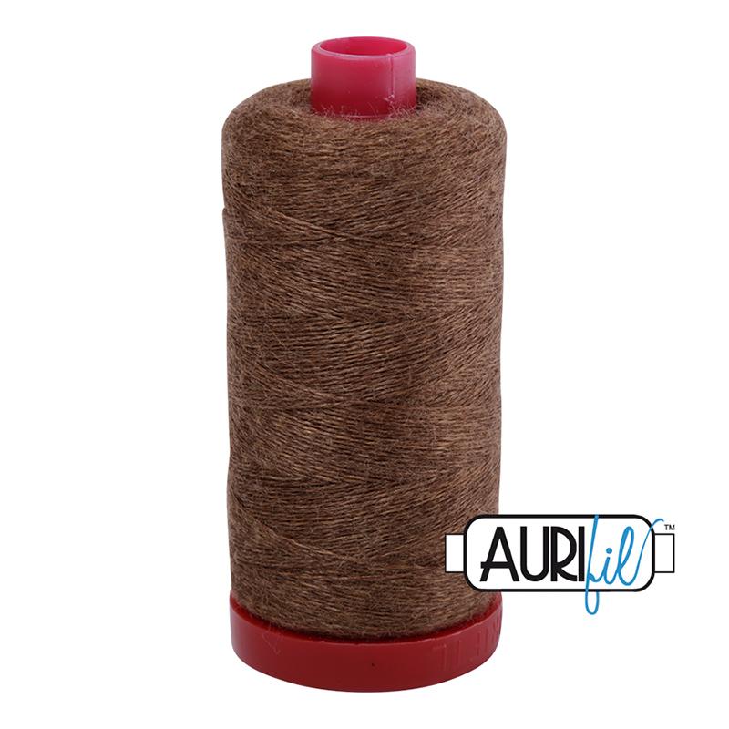 Lana Wool Thread 12wt 350m - BROWN