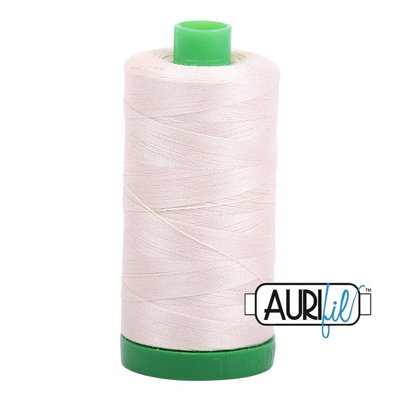 Aurifil Cotton Thread Light Sand 2000
