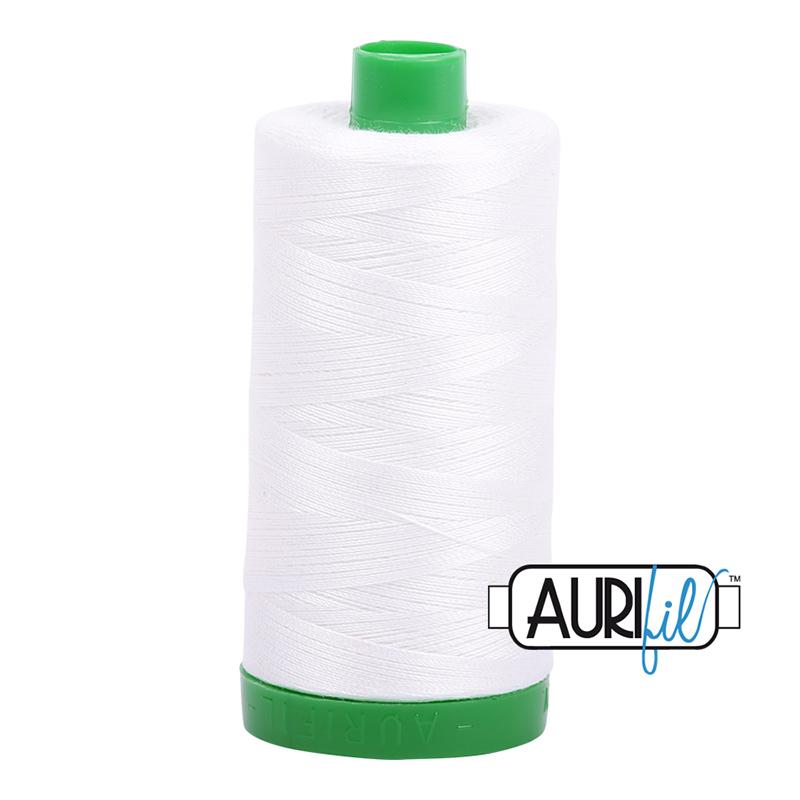 Aurifil Cotton Thread Natural White 2021