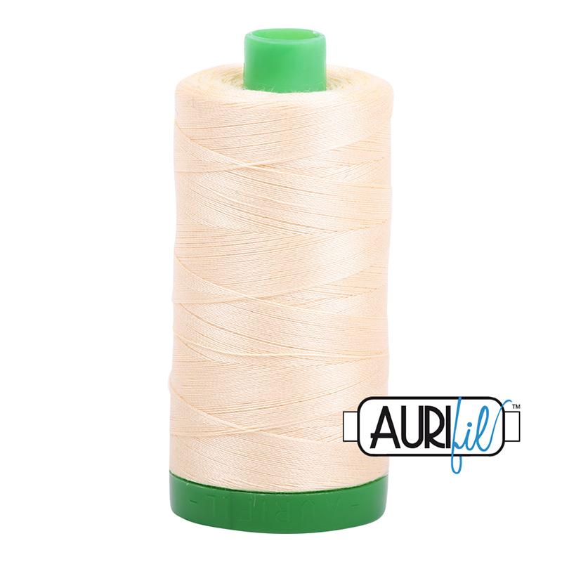 Aurifil 40wt 1000m Butter 2123