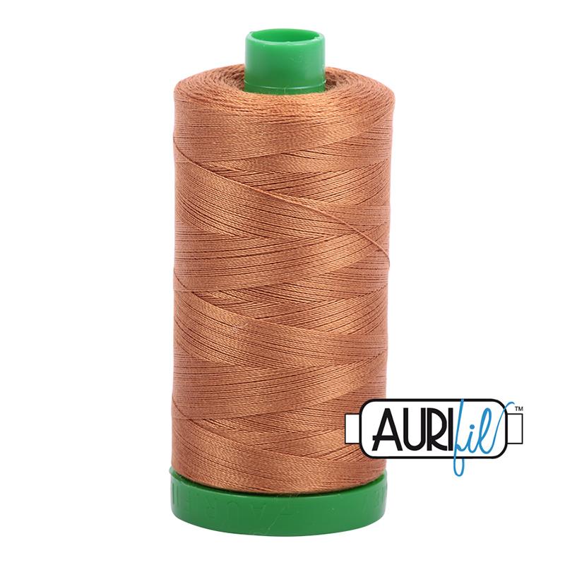 Aurifil 40wt 1000m Light Cinnamon 2335