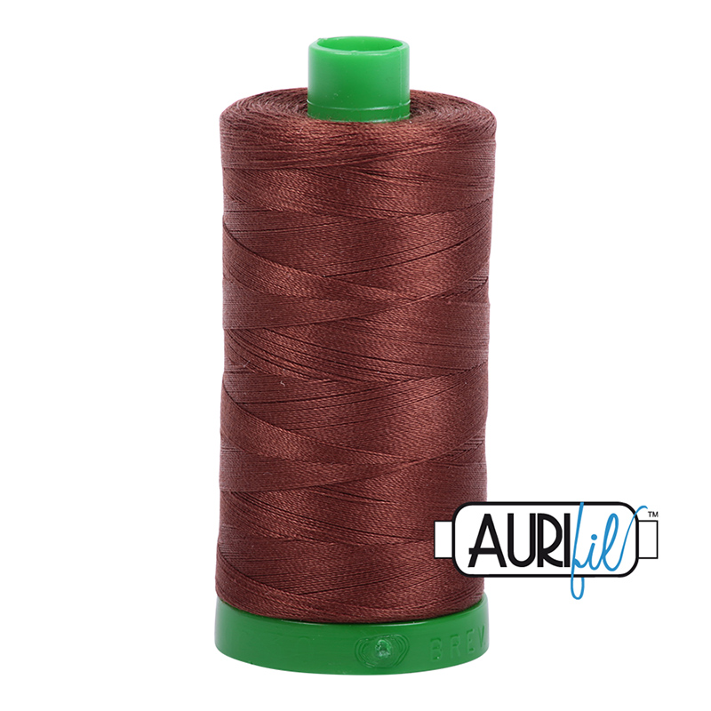 Aurifil 40wt 1000m Chocolate 2360