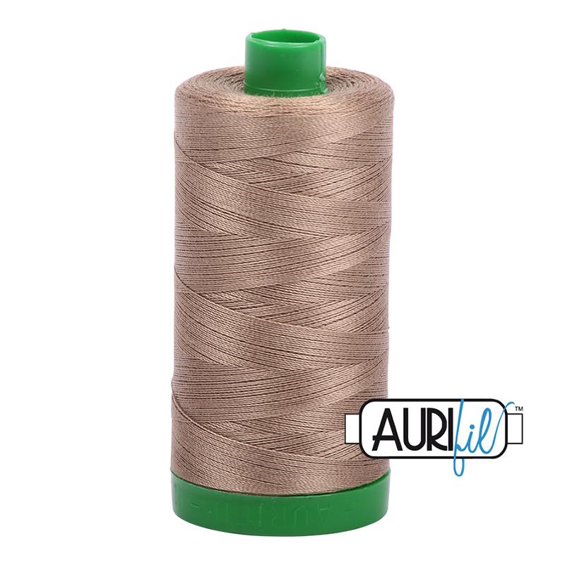 Aurifil Thread Sandstone 40wt 2370