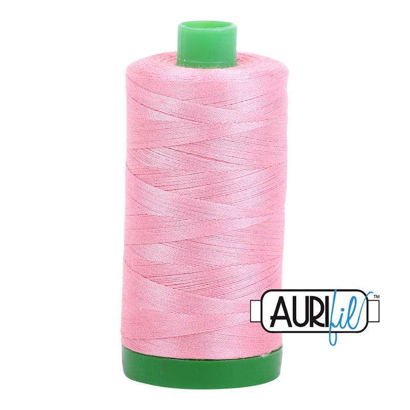 Aurifil 40wt 1000m Bright Pink 2425