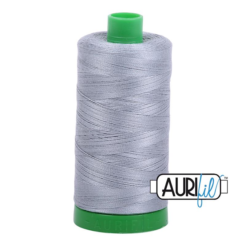 Aurifil 40wt 1000m Light Blue Grey 2610