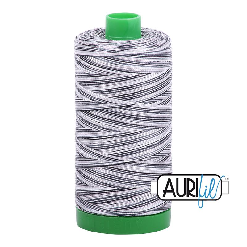 Aurifil 40wt 1000m Variegated Licorice Twist 4652