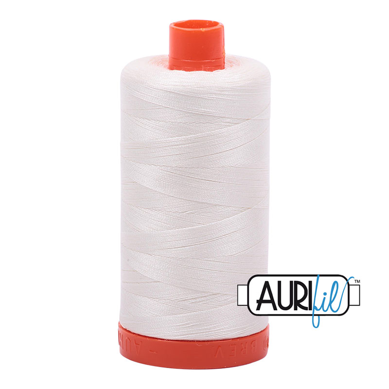 Aurifil Cotton Thread 50wt Chalk 2026