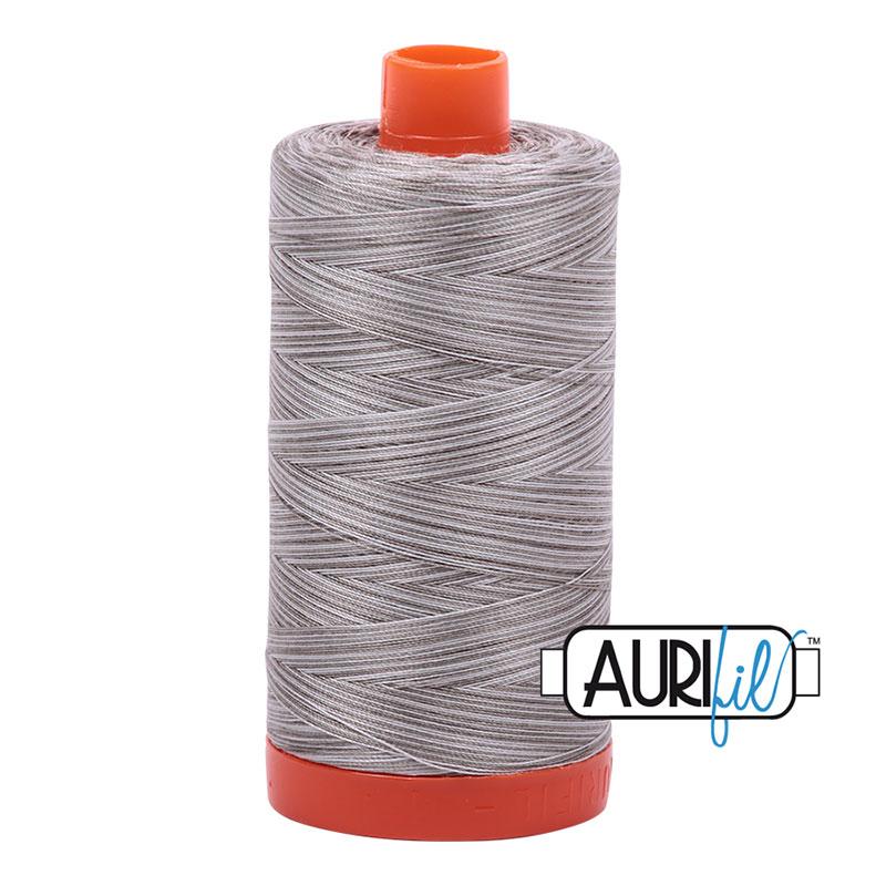 Aurifil Variegated Silver Fox Cotton Thread - 4670