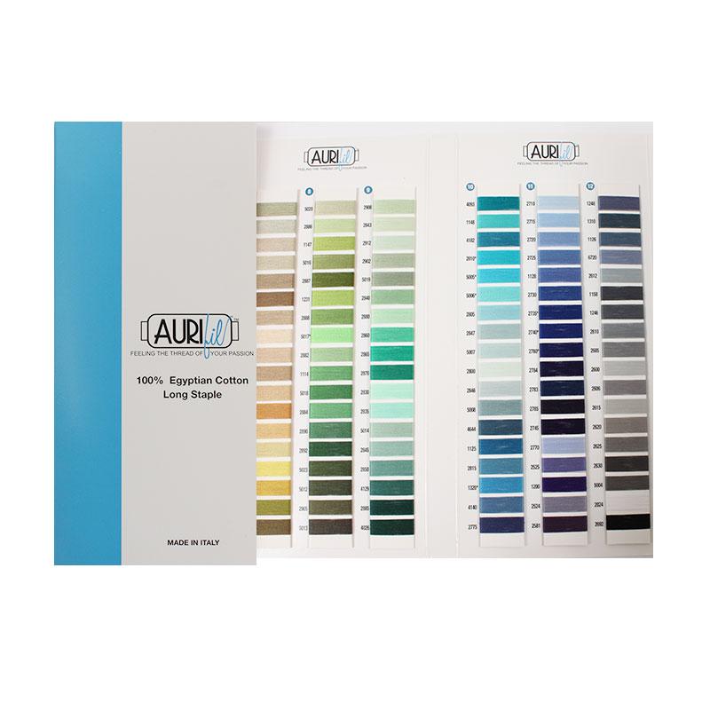 Aurifil Cotton Color Chart