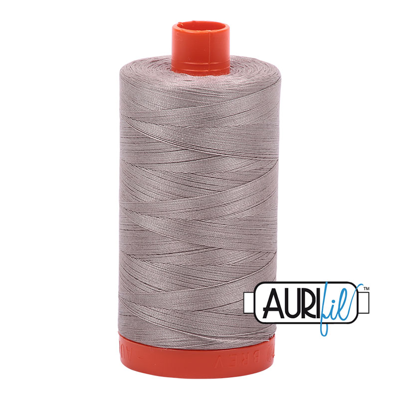 Aurifil - Cotton Mako Thread 50wt 1300m