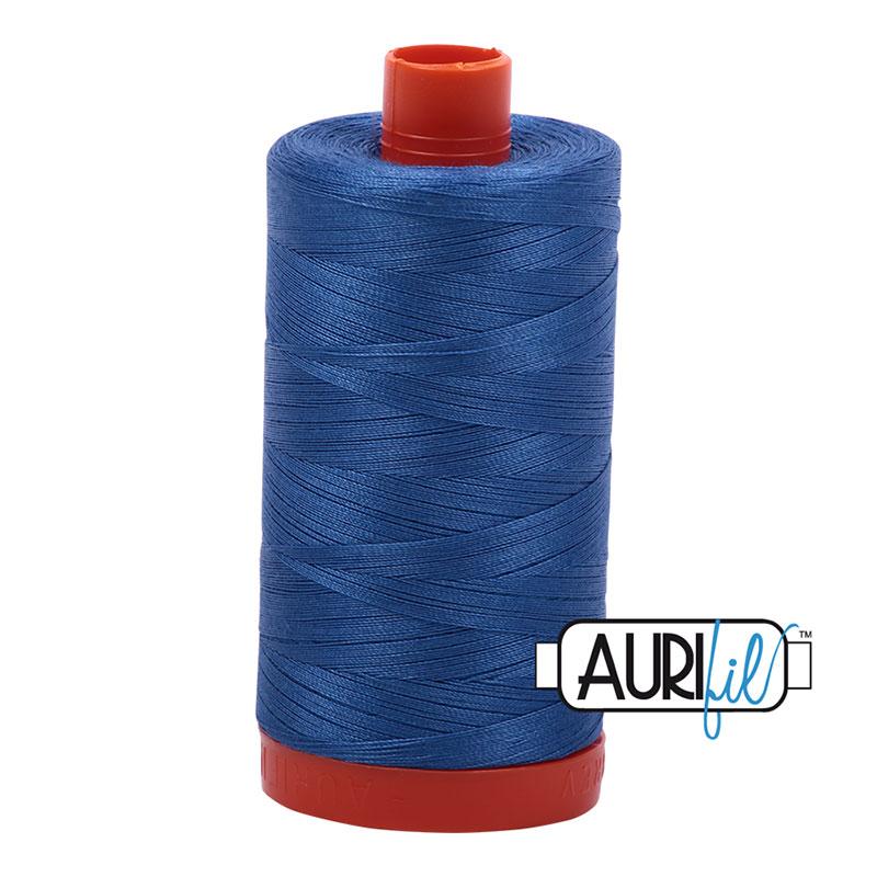 Aurifil 50wt #6738 Peacock Blue